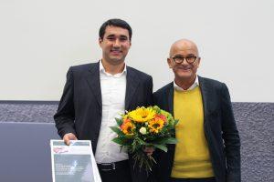 Herrn Eduard Temme (Preisträger) und Prof. Dr. Lothar Brunsch